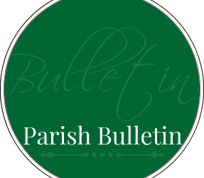 Parish Bulletin – 10th  July  2016